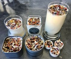 Cinnamon Vanilla Candles - Fall Candles - Crystal & Herb Candles - Aromatherapy Candles - soy candle - Custom candles - Healing crystals Candle inspiration for Karen Gilbert. Fall Candles, Tin Candles, Candle Jars, Soy Candle, Coffee Candle, Candle Holders, Homemade Scented Candles, Candle Making Business, Custom Candles