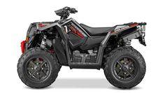 New 2016 Polaris Scrambler XP 1000 Titanium Matte Red ATVs For Sale in Florida.