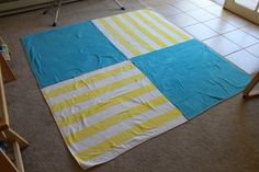 I finished this blanket just in time for the beach yesterday. It's made from two Ikea towels that I picked up last summer. I think the towels cost about $7 each and that is really something…