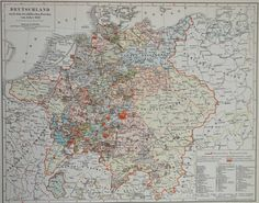 Map of Germany after the Peace of Westphalia of 1648.  The Peace of Westphalia…