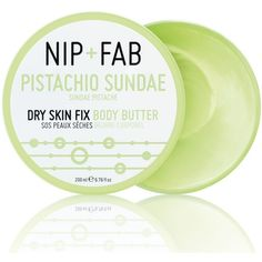 Body Butter Pistachio Sundae 200ml ($12) ❤ liked on Polyvore featuring beauty products, bath & body products, body moisturizers, fillers, beauty, makeup, green fillers, green, skincare and body moisturizer
