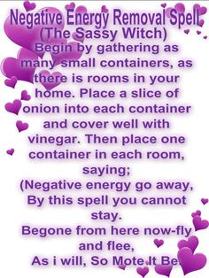 Negative Energy Removal Spell