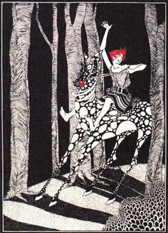 Illustration for The Snow Queen by Katharine Beverley and Elizabeth Ellender, 1929