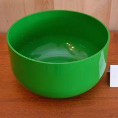 Mid-Century modern - Bol Kartell vert