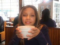 Starting a chilly morning in New York City at the NoHo Star on Lafayette - Creme Brulee hot Chocolate. why...yes!