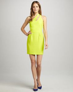 Bella Slit-Top Dress by Naven at Neiman Marcus.