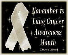 November lung cancer awareness month