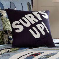 My World Catch a Wave Surfs Up Pillow