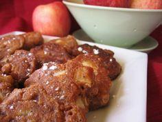 Kinda' Healthy Vegan Apple Fritters.  My mouth is watering.... (Dessert or Thanksgiving breakfast)