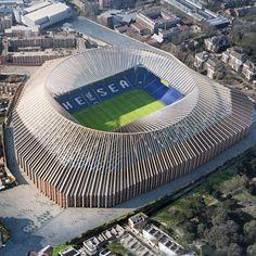 Herzog & de Meuron has unveiled its final design for the revamp of Chelsea FC's London stadium.