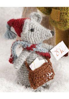 modèle tricot ours