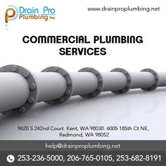 Advantages of Hiring A Professional Plumbing Service - Drain Pro Plumbing Commercial Plumbing