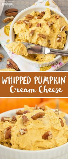 This Pumpkin Bread Recipe is extra tender, thanks to a secret ingredient nobody will guess. It's the best pumpkin bread you'd ever want. The Best Pumpkin. Pumpkin Cream Cheese Dip, Pumpkin Dip, Cream Cheese Dips, Cream Cheese Spreads, Cream Cheese Recipes, Pumpkin Dessert, Pumpkin Recipes, Pumpkin Spread Recipe, Cream Cheese Crackers Recipe
