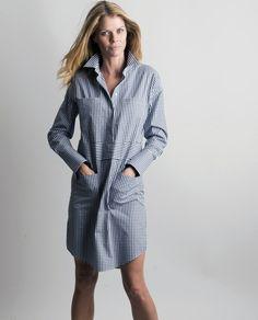 Claridge   King - Four Pocket Shirtdress, $178.00 (http://www.claridgeandking.com/four-pocket-shirtdress/)