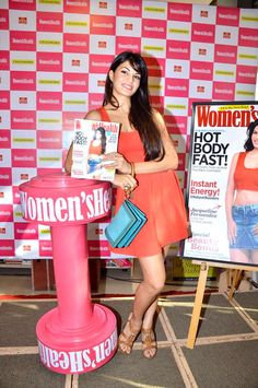 Jacqueline Fernandez unveils Women's Health MayIssue - Fashion Blog - For All Things Beautiful - The Purple Window