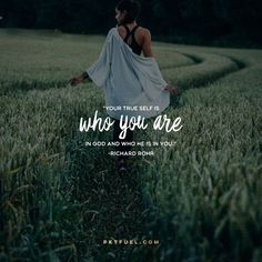 So rather than living to BE someone, you can live from a place of knowing that you already are... <<CLICK THE IMAGE TO KEEP READING THE DEVOTION>>