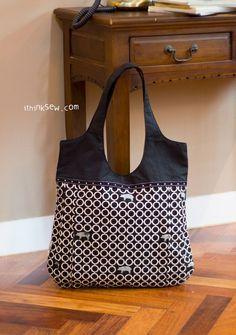 29 Nevena Bag PDF http://Pattern-ithinksew.com