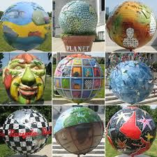 Globe is what you see