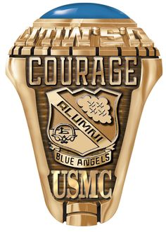 Marine Ring for the Blue Angels