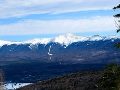 Presidential Mountain Range in NH (White Mountains) from Panorama on  Bretton Woods Ski Resort