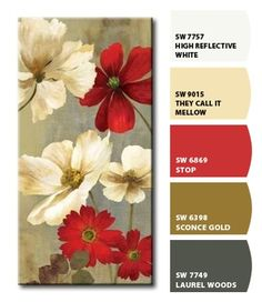 Instantly turn any picture into a palette with ColorSnap, created for you by Sherwin-Williams. Scheme Color, Paint Color Schemes, Color Palate, Color Combos, Paint Colors For Home, House Colors, Color Style, Beautiful Color Combinations, Color Harmony
