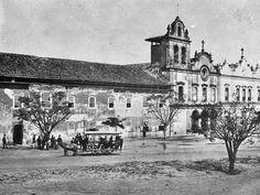 1874 - Antigo convento e a Faculdade de Direito no Largo São Francisco.