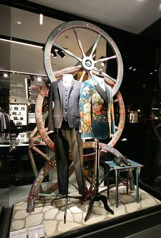 Window Visual Merchandising | VM | Window Display | Dolce & Gabbana windows 2013 Autumn, Munich – Germany