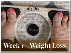 Dramatic weight loss in a month