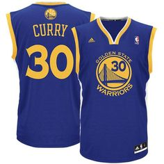 3128db6d9 Mens Golden State Warriors Stephen Curry adidas Royal Blue Replica Road Jersey  Warriors Stephen Curry