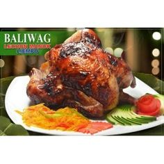 Baliwag Lechon Manok has long been a favorite for various celebrations such as wedding anniversaries, birthdays, graduations, and the welcoming back of balikbayans. Lechon, Great Desserts, Gift Certificates, Tandoori Chicken, Turkey, Treats, Ethnic Recipes, Gifts, Drink