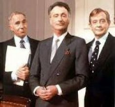Yes, Minister.  Paul Eddington enjoyed enormous success with The Good Life and followed it up with this show and its sequel, Yes Prime Minister