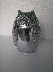 Metal Owl Box