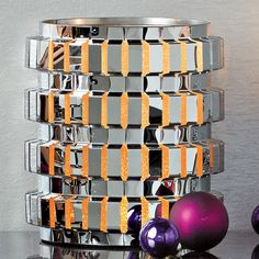 PartyLite® ENCHANTED LINEAR CANDLE HOLDER - MEDIUM