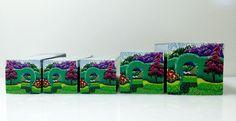 "Tree cane #45 ""The Hedges"" by Wendy Jorre de St Jorre."
