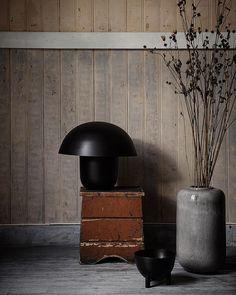 """""""The Perfect Imperfect... Húfa Lamp Black, Antique Bowl - Shop Link in Bio #ajournal #artilleriet…"""""""