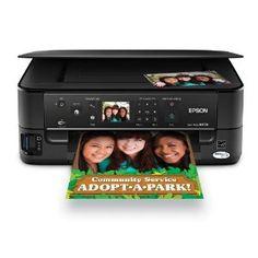Online  Epson Stylus NX530 Wireless All-in-One Color Inkjet Printer, Copier, Scanner (C11CB90201)