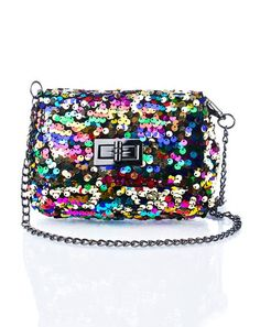 Sequin Mini Cross Body Bag