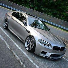 BMW F10 M5 matte silver