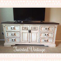 Dresser/ buffet refinished by Twisted Vintage Az!