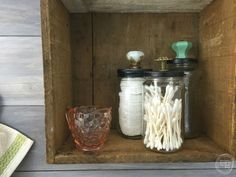 What Do You Do With Old Glass Jars?  Reuse Them for Storage!