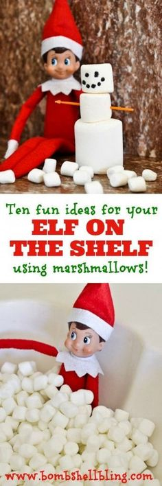 Elf on the shelf ideas ¥