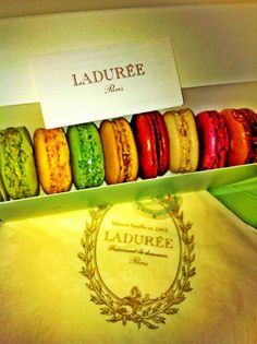 Laduree, Paris, French Macaroon