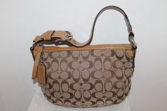 17Coach Soho Signature Hobo Shoulder Bag. Starting at $20
