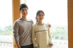 BTS Hong Kong promo photos | http://forums.soompi.com/en/topic/382268-%E2%99%A5song-songkikyo-couple%E2%99%A5-~-song-joong-ki-song-hye-kyo-we-are-blessed-to-meet-each-other/?page=226 #descendants of the sun #song joong ki  #song hye gyo