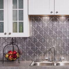 Fasade backsplash panels transform an ordinary kitchen or bathroom into a stylish space.