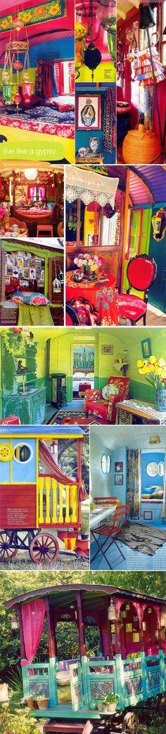Eclectic Gypsyland found via @lilmagoolie