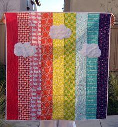 Rainbow Quilt, via Flickr.