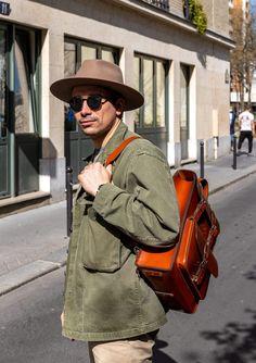 TEST : le sac Alphonse de Valet de pique. Il vaut vraiment le coup ? Looks Vintage, Messenger Bag, Satchel, Menswear, Bags, Fashion, Making Purses, Book Bags, Pique