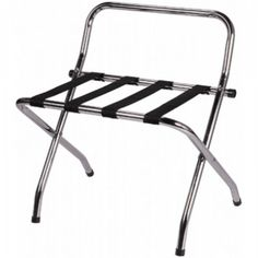 tubular metal luggage stands - Sorry but we've been unable to find this product Outdoor Chairs, Outdoor Furniture, Outdoor Decor, Luggage Rack, Folding Chair, Household, Metal, Home Decor, Bedrooms