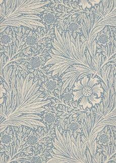 Tapeten von William Morris / Tapeten Morris & Co. William Morris, Marigold, Wallpaper, Bathroom, Home Decor, Wallpapers, Homes, Nice Asses, Washroom